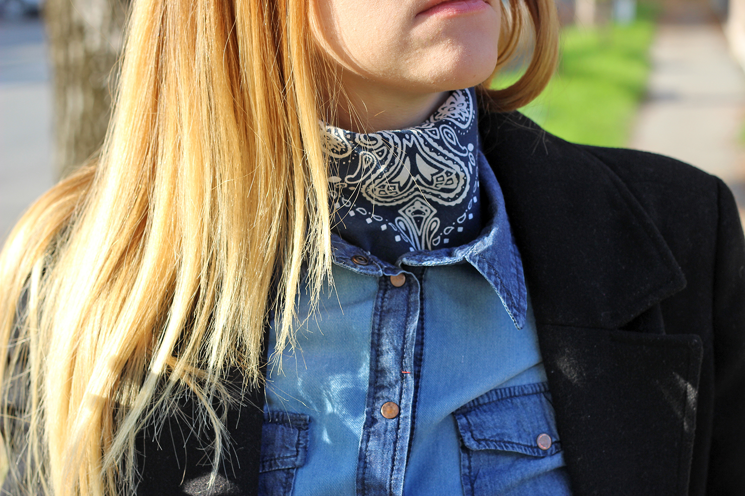 foulard country Levis