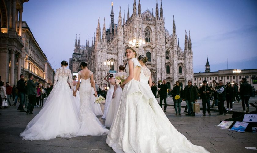 Italian Wedding Style abiti da sposa 2017