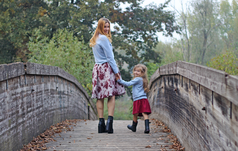 moda donna e bambina 2017