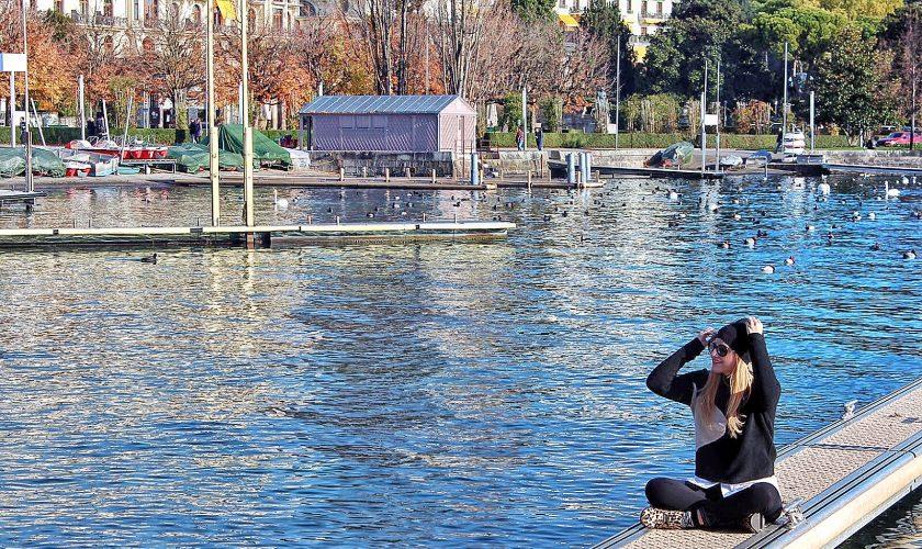 Lago Lemano Losanna