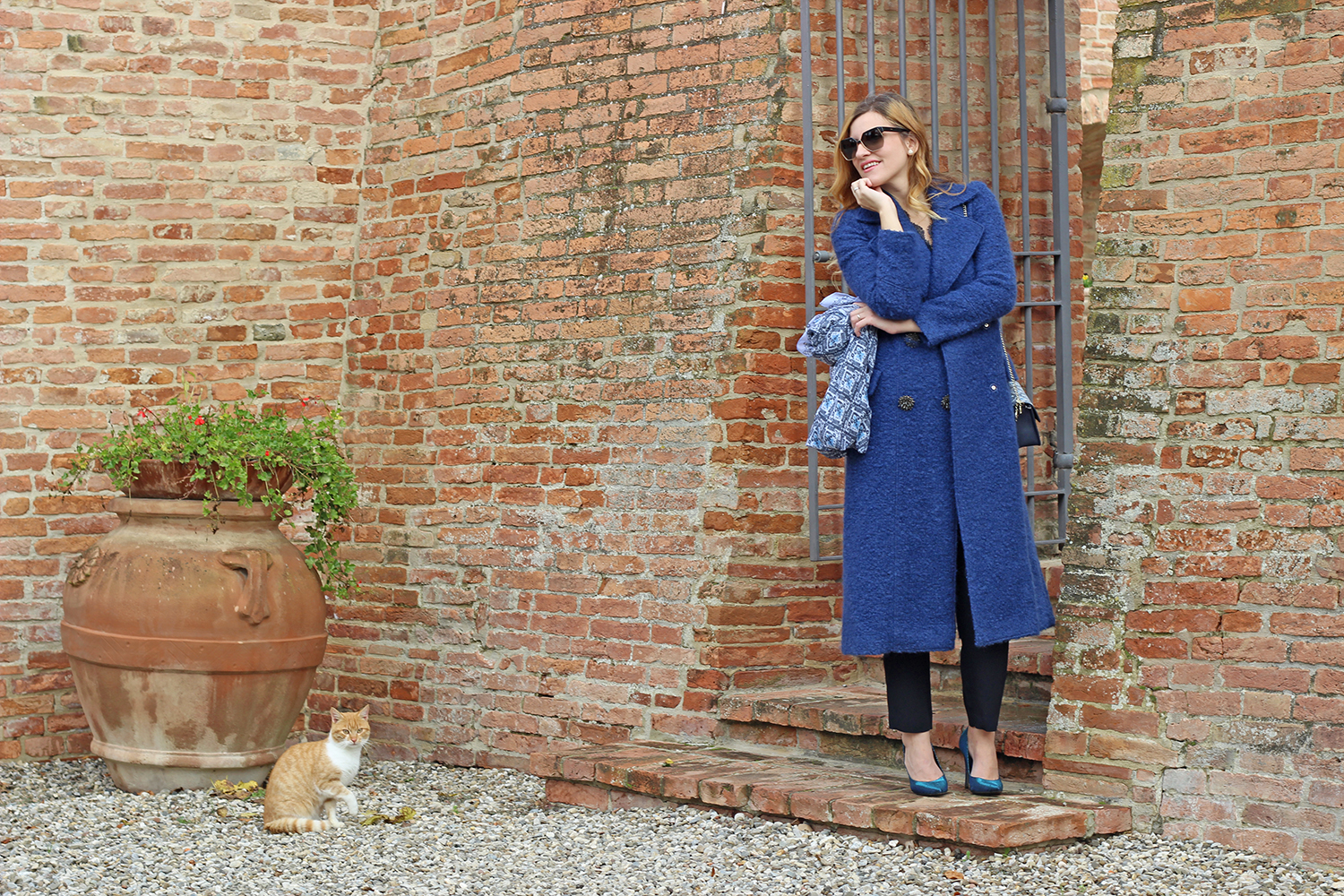 long coat riverside blue vdp