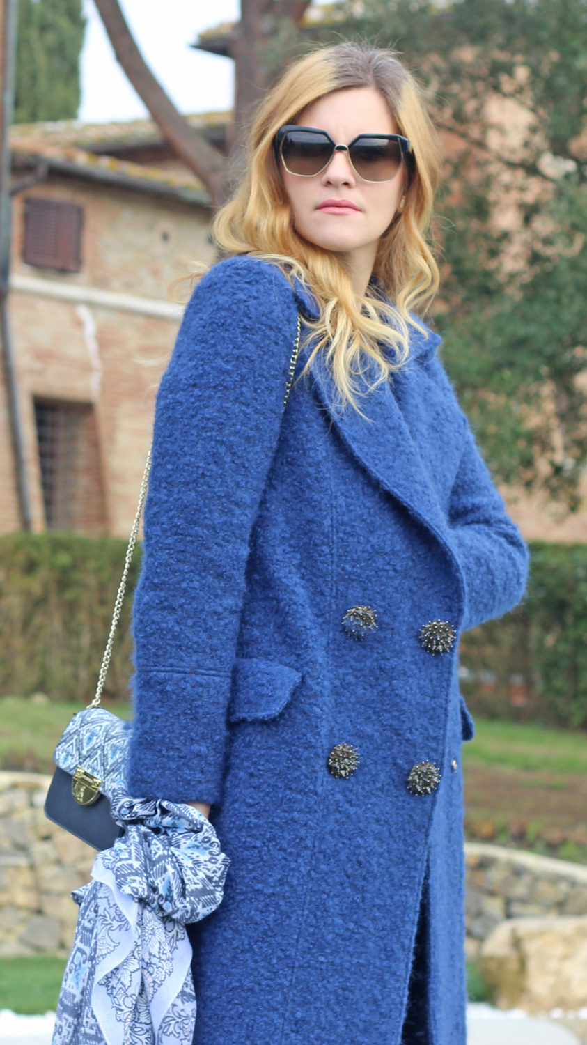 cappotto riverside blue