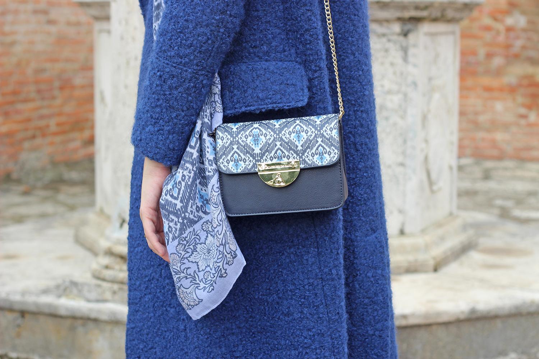 borsa l'atelier du sac pash bag blu
