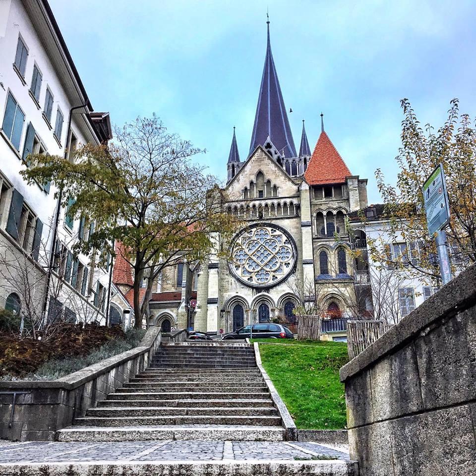 losanna lato sinistro cattedrale