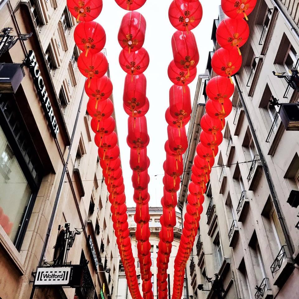 losanna installazioni luminose città