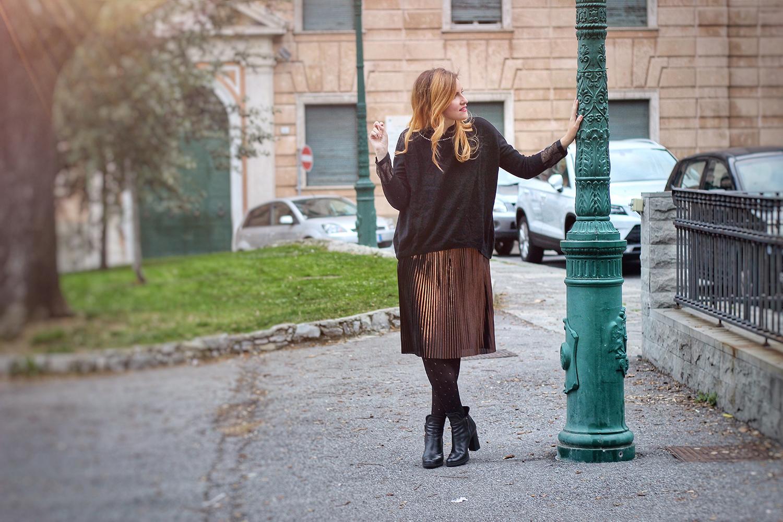 look di natale 2016 abbigliamento donna