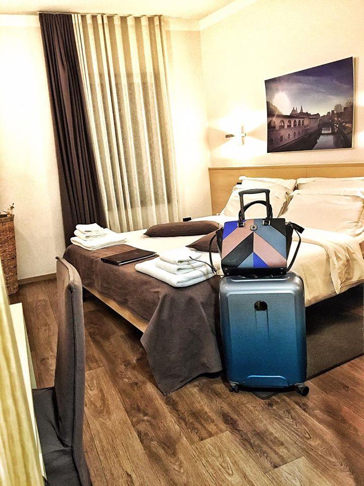 Emona Luxury Hotel Lubiana Valigia Delsey