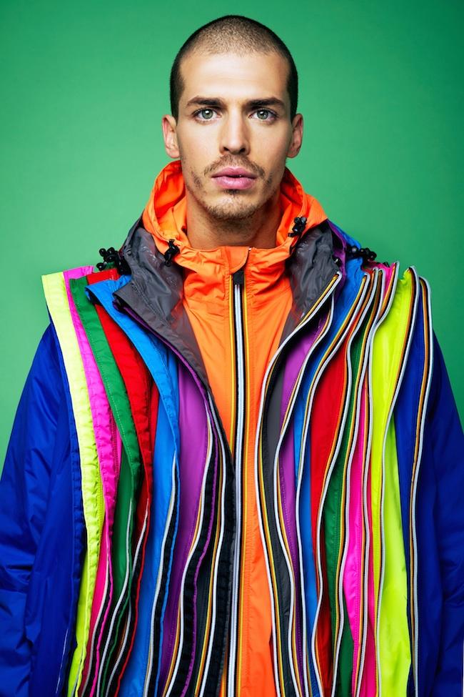 kway multicolori