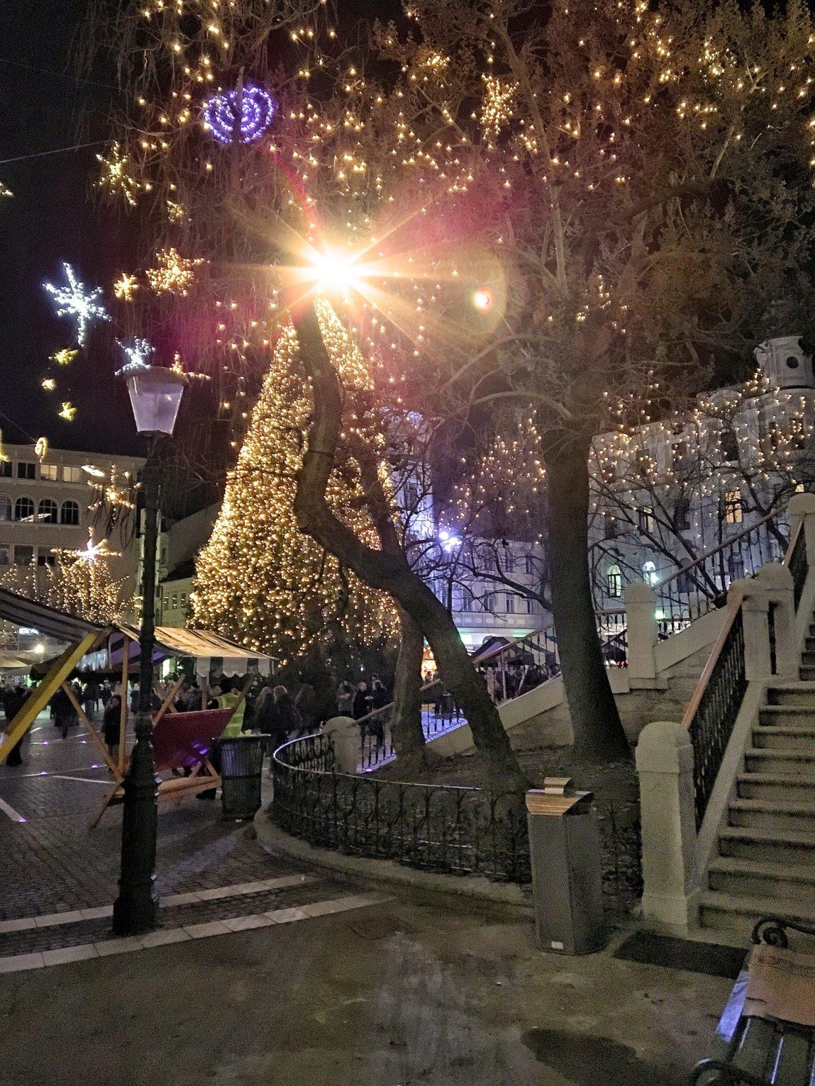 luminarie di natale 2016 lubiana