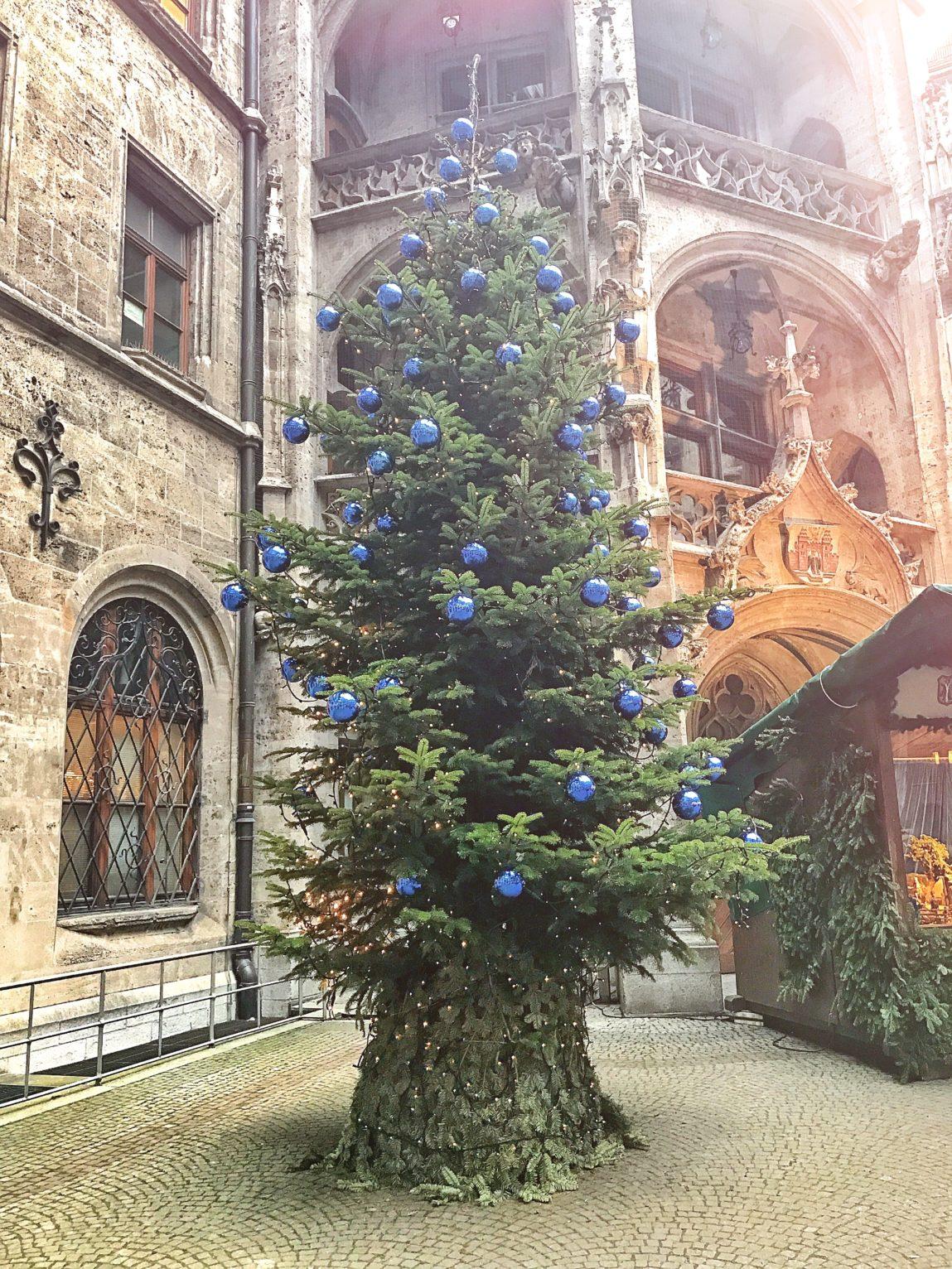 albero di natale monaco