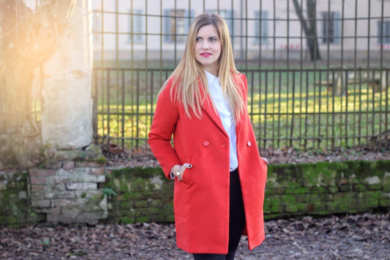 cappotto arancione trend