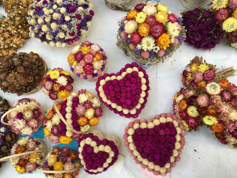 decorazioni natalizie fiori lubiana