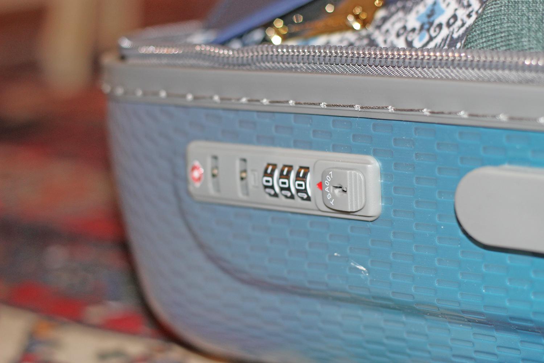 Delsey valigia serratura TSA