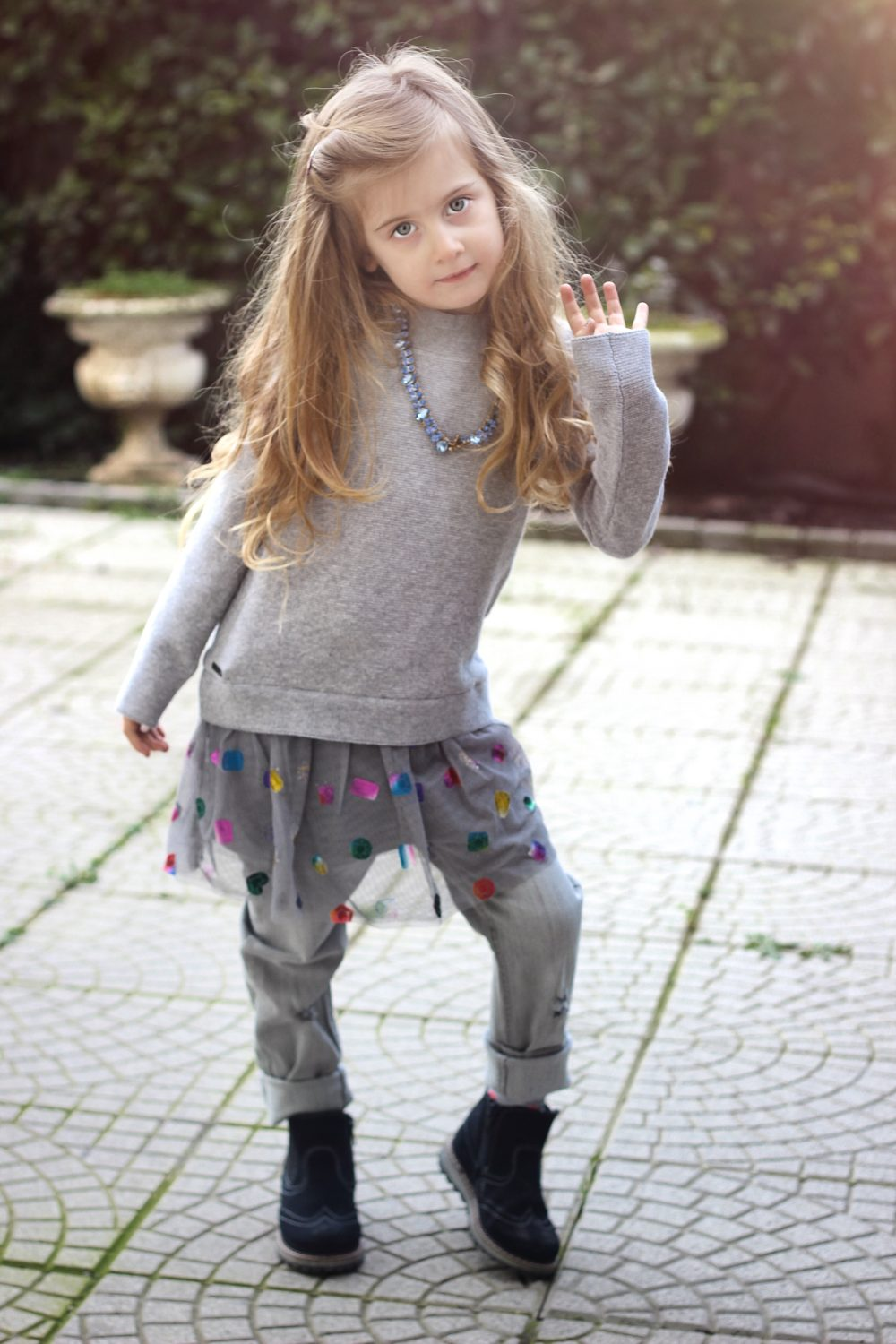 fashion kids look boboli moda bimba