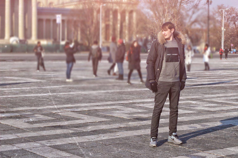 moda uomo parka canadian budapest