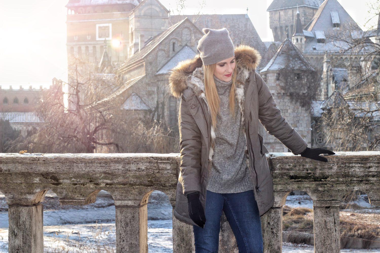 parka invernale canadian moda donna