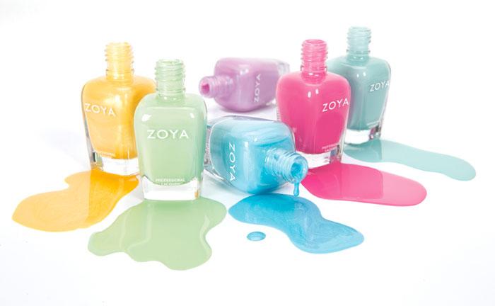 smalti colori pastello zoya