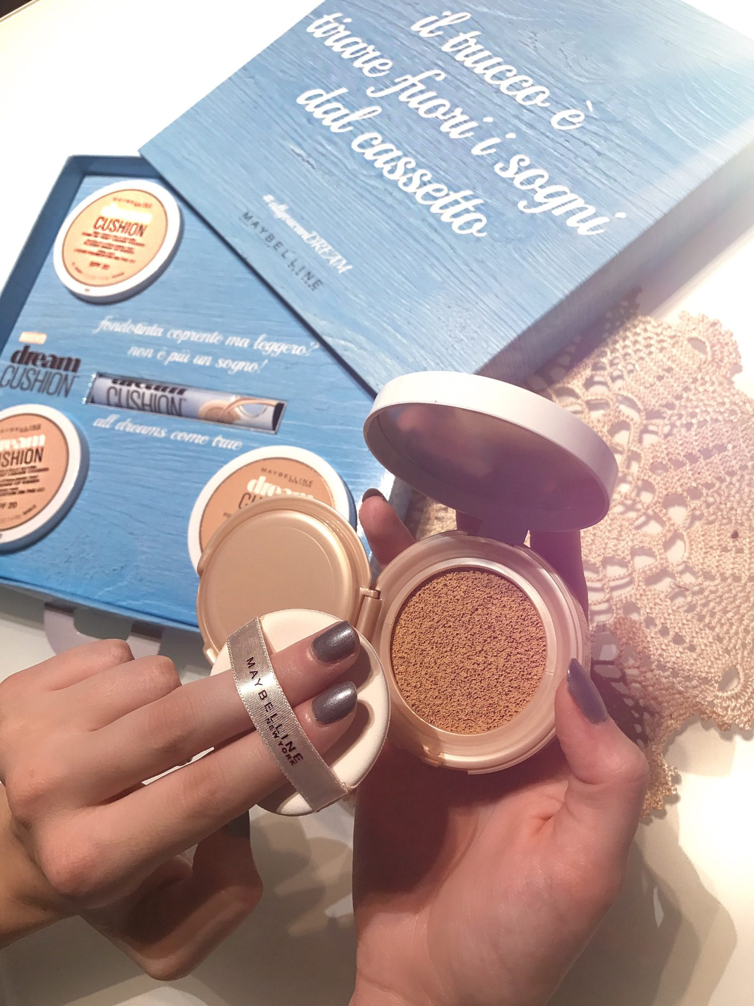 recensione fondotinta dream Cushion