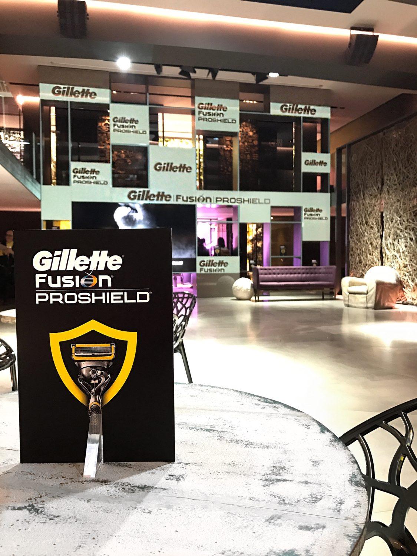 spazio gessi evento blogger Gillette Fusion Proshield