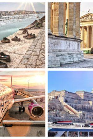 collage post viaggio budapest