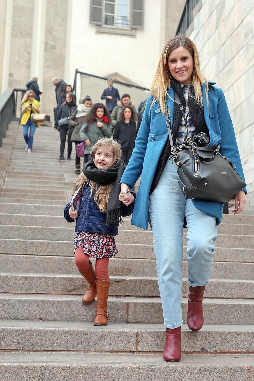 street style milano fashion blogger scalone arengario duomo