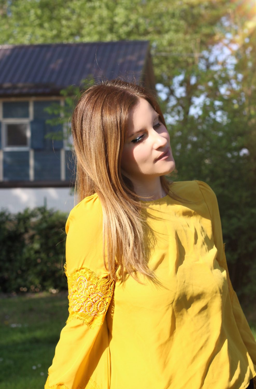 blusa giallo primrose