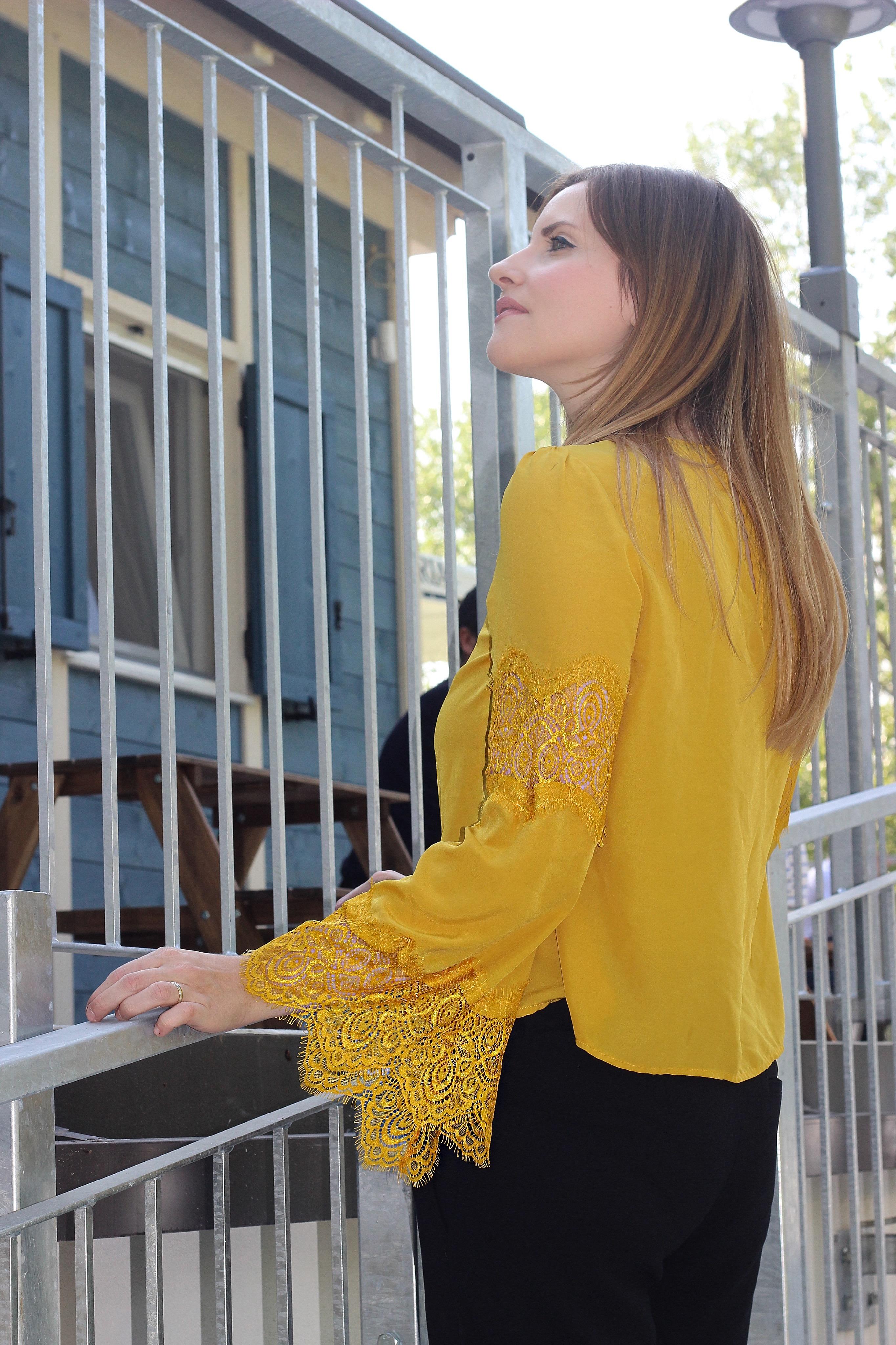 blusa giallo primrose ovs