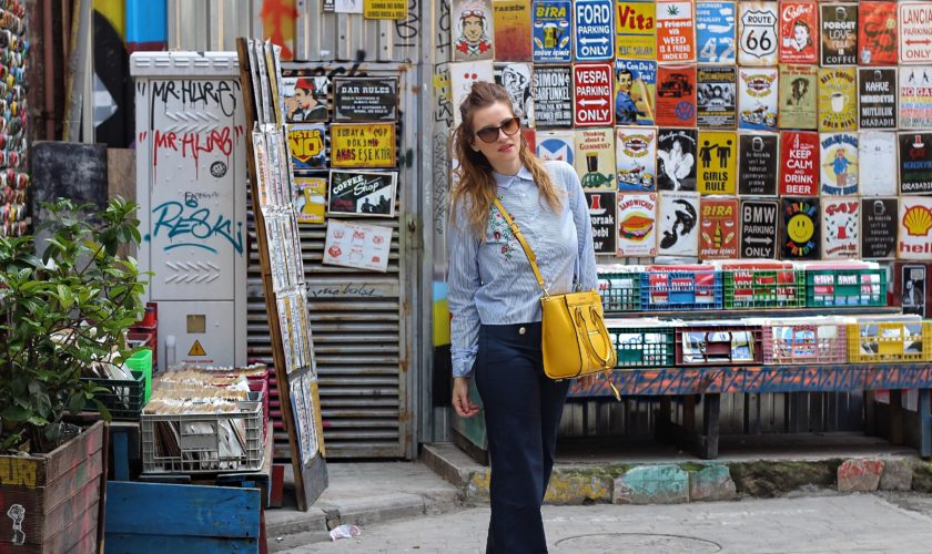 Bertolini Elisabetta Outfit Pantaloni Palazzo fashion blogger