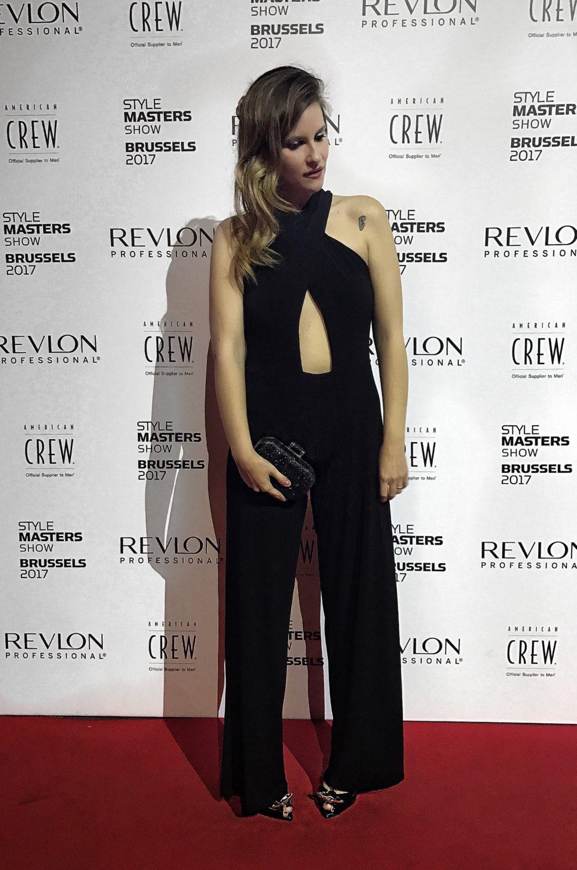 Elisabetta Bertolini Style Masters Bruxelles serata di gala revlon professional
