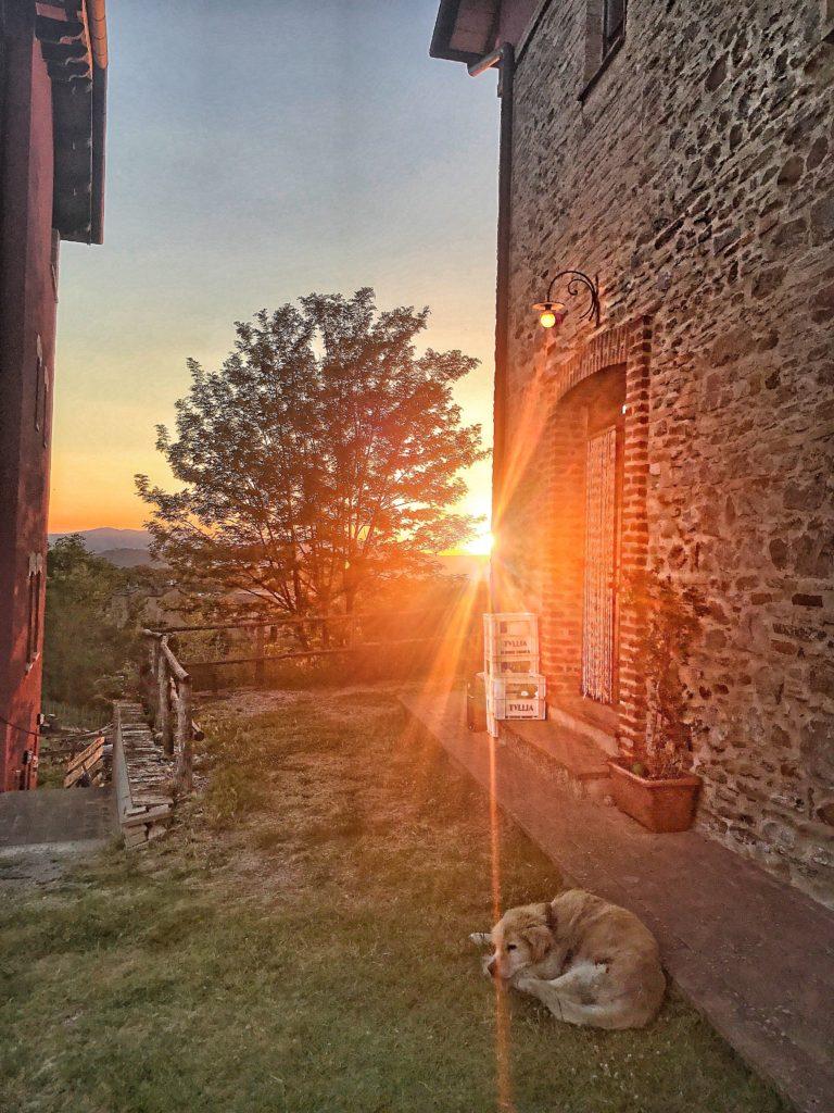 Agriturismo il Sarale al tramonto