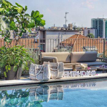 hawaiian tropic solari evento hotel via milano