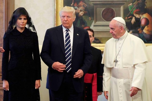 Trump_papa_francesco