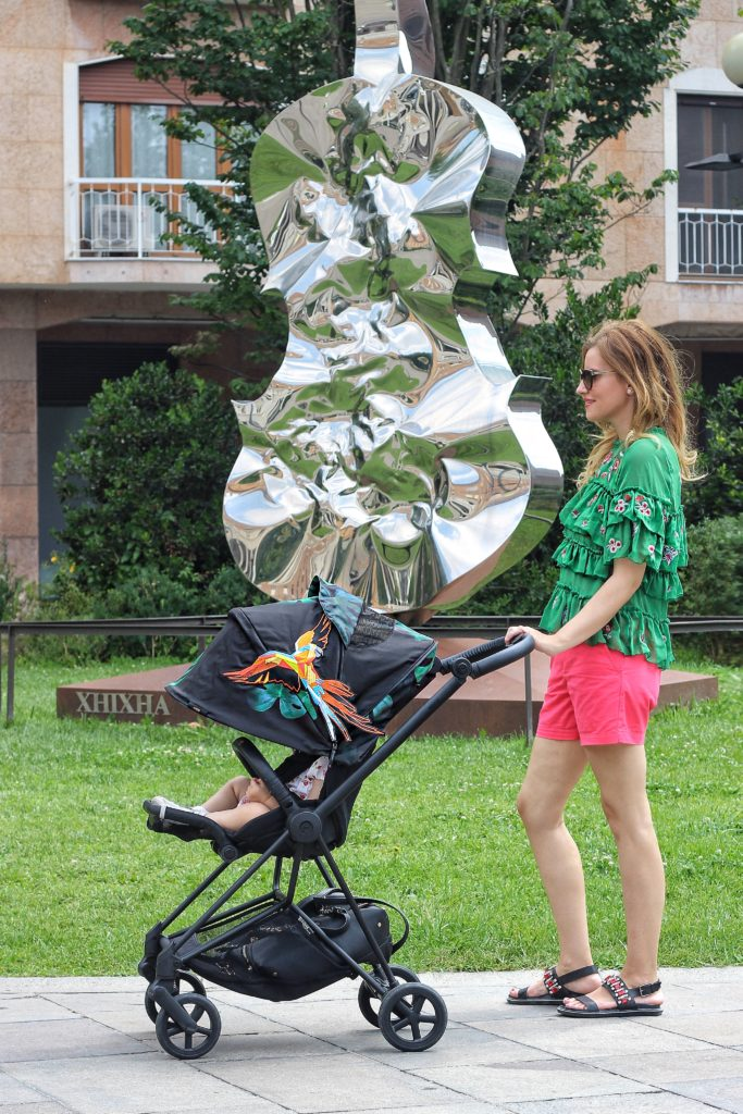 Elisabetta Bertolini Cybex passeggino