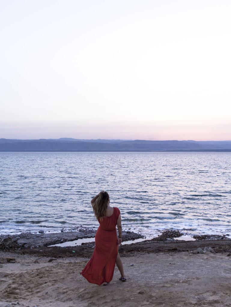 Elisabetta Bertolini tramonto mar morto
