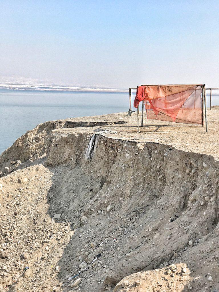 Distese di sale Mar Morto