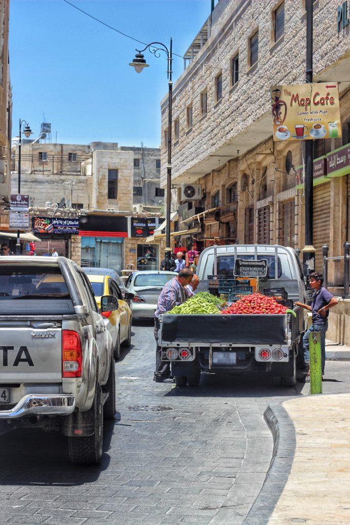 Città di Madaba Giordania
