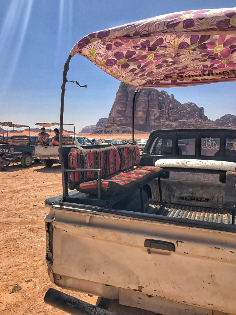 Esperienza 4x4 deserto giordania