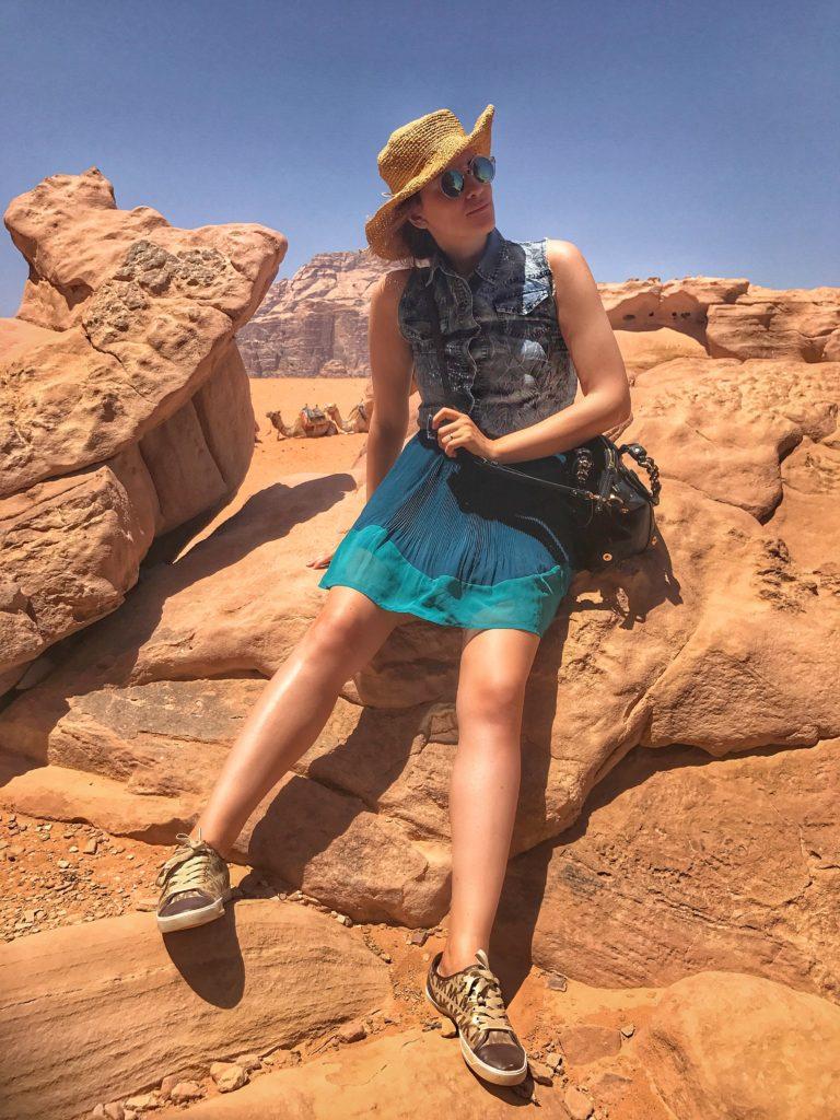 Elisabetta Bertolini viaggio nel deserto