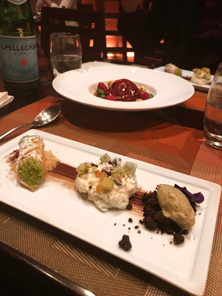 mix dolci ristorante Ronda Locatelli Dubai