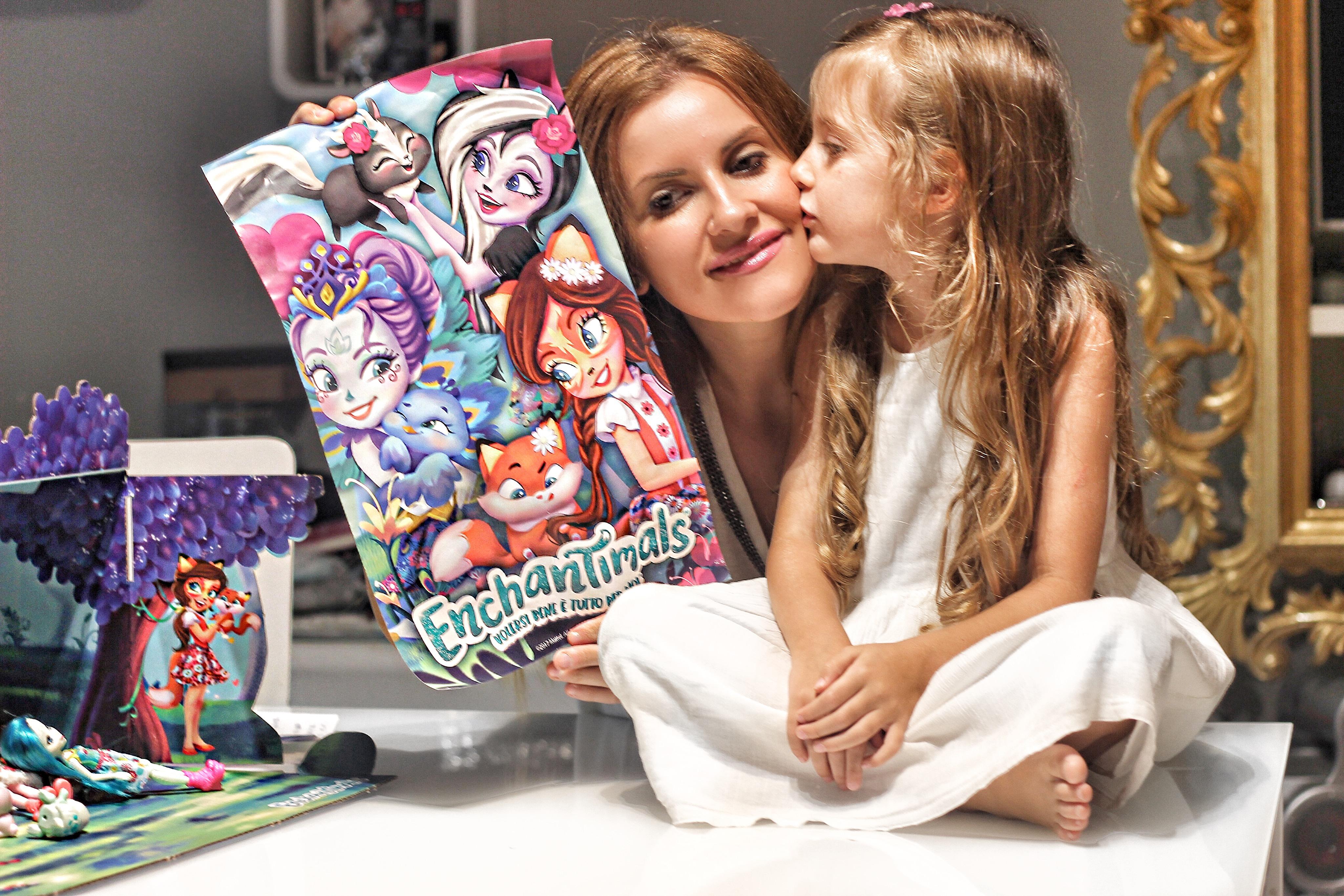 Elisabetta Bertolini Gaia Masseroni campagna Enchantimals Mattel