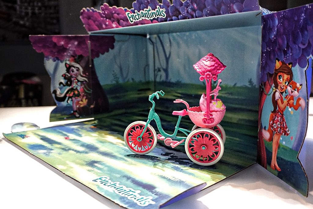 bicicletta accessori enchantimals