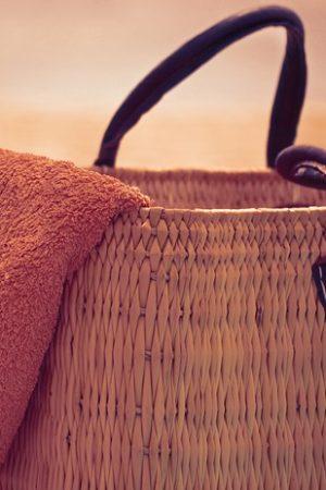 Holiday Vacation Sun Summer Beach Bag And Towel