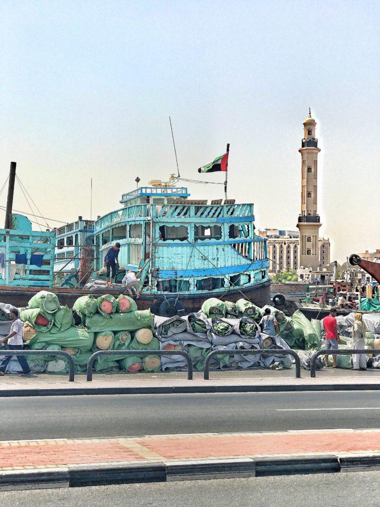 Deira vecchia Dubai Fiume