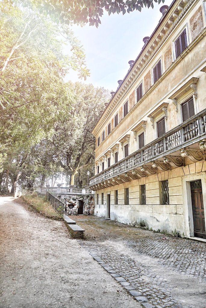 giardini villa torlonia