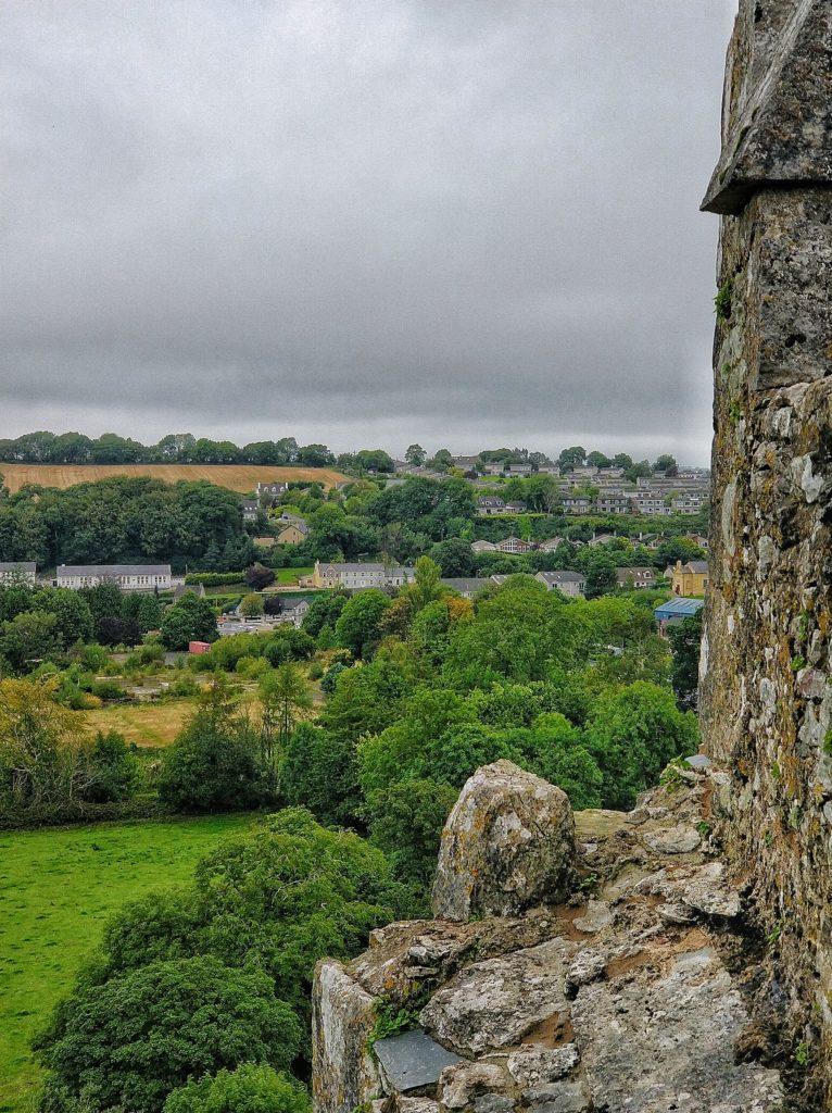 Vista castello di Blarney