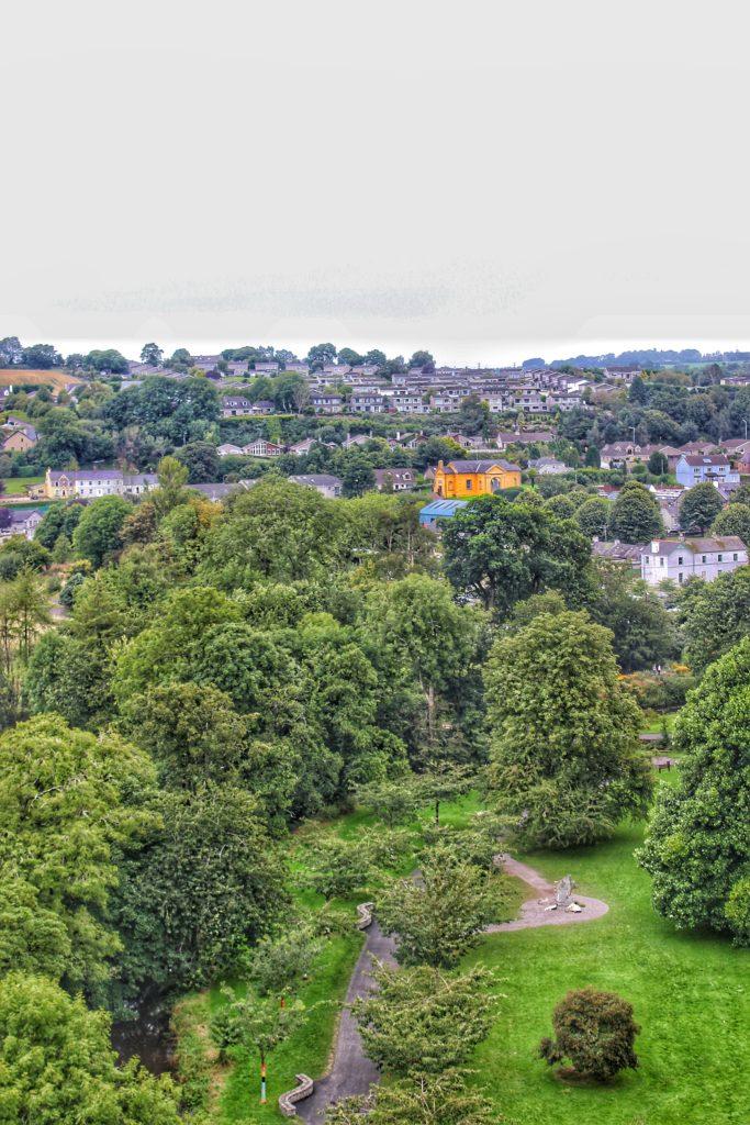 Cork vista dal castello di Blarney