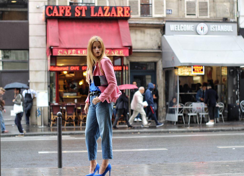 elisabetta_bertolini_chiodo_rosa_jeans_levis