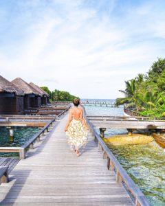 fashion blogger maldive