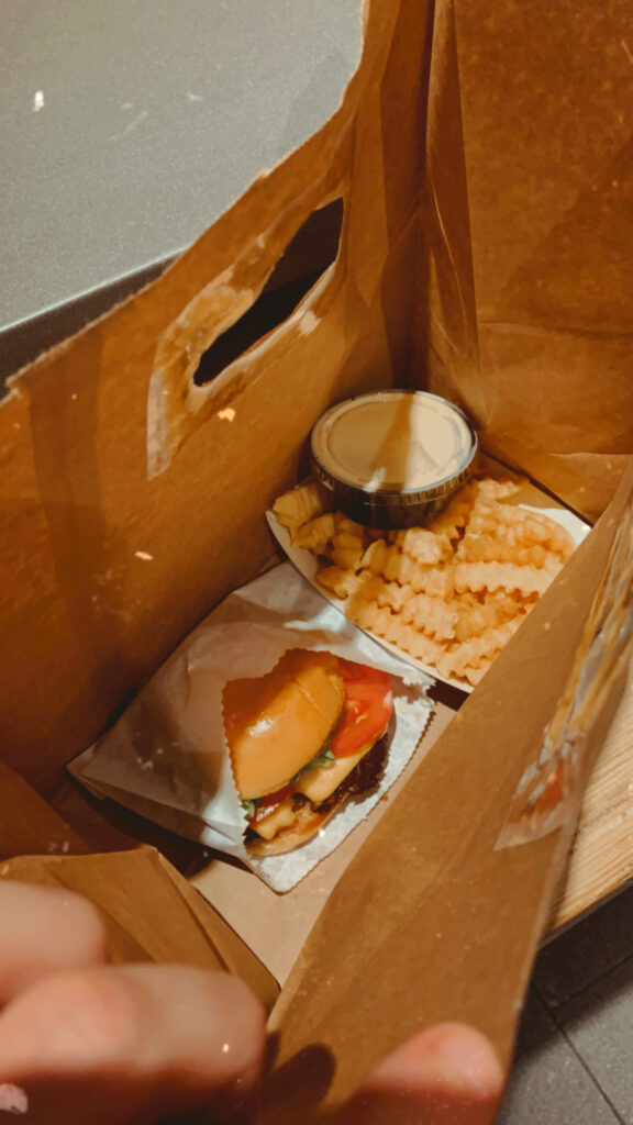 Shake Shack burger nyc