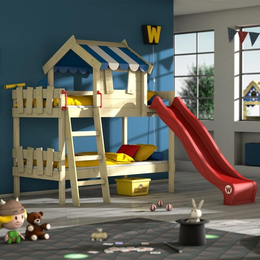 letto-a-soppalco-con-scivolo-wickey-crazy-circus-630692-by-wickey-rosso-con-rete-a-doghe-blu-d9c